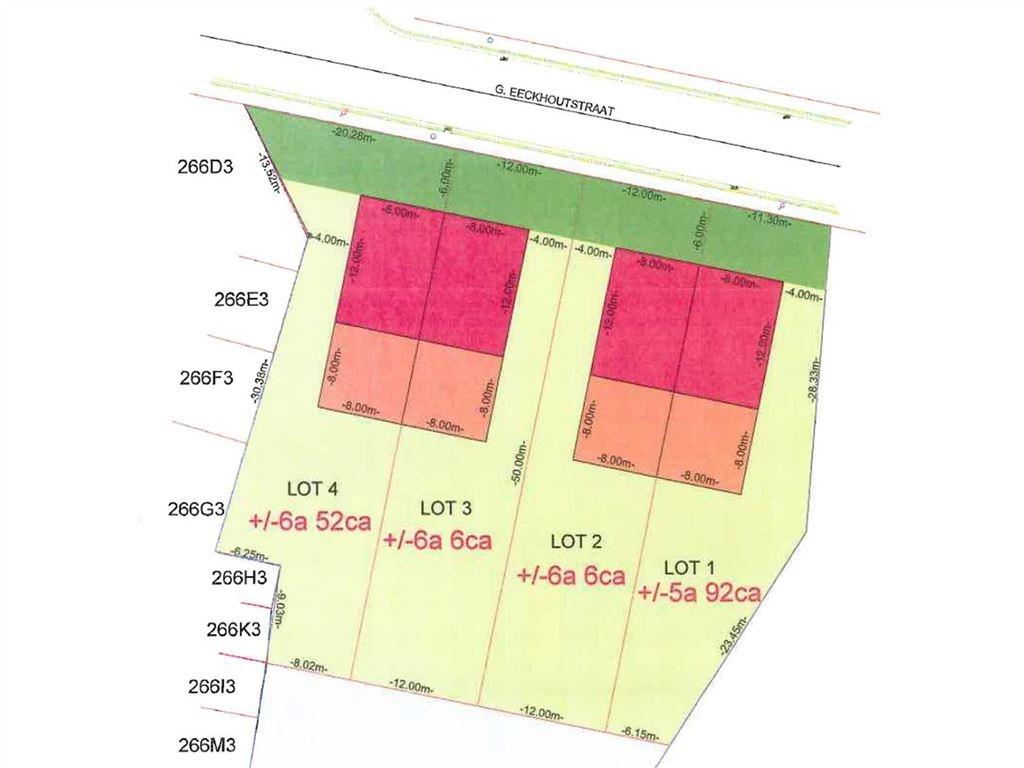 bouwgronden voor HOB, top orientatie, zeer goede ligging