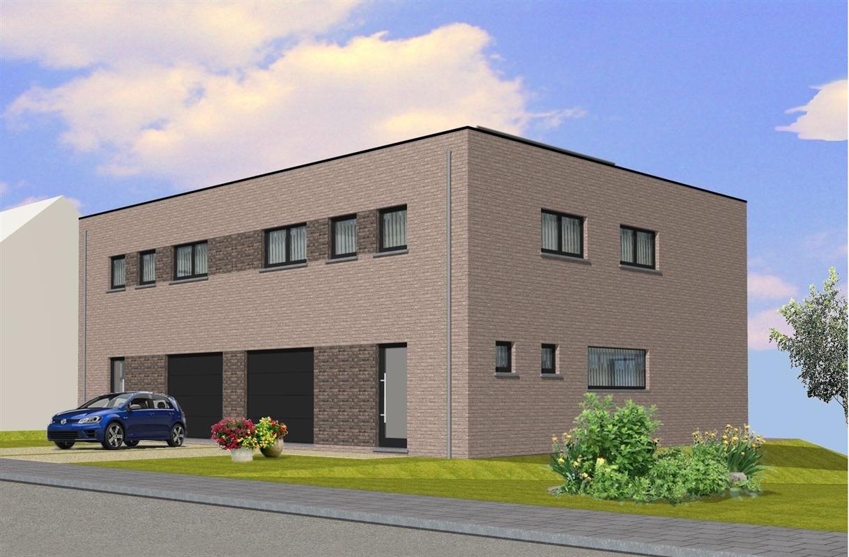 2 Nieuwbouwwoningen met garage en tuin