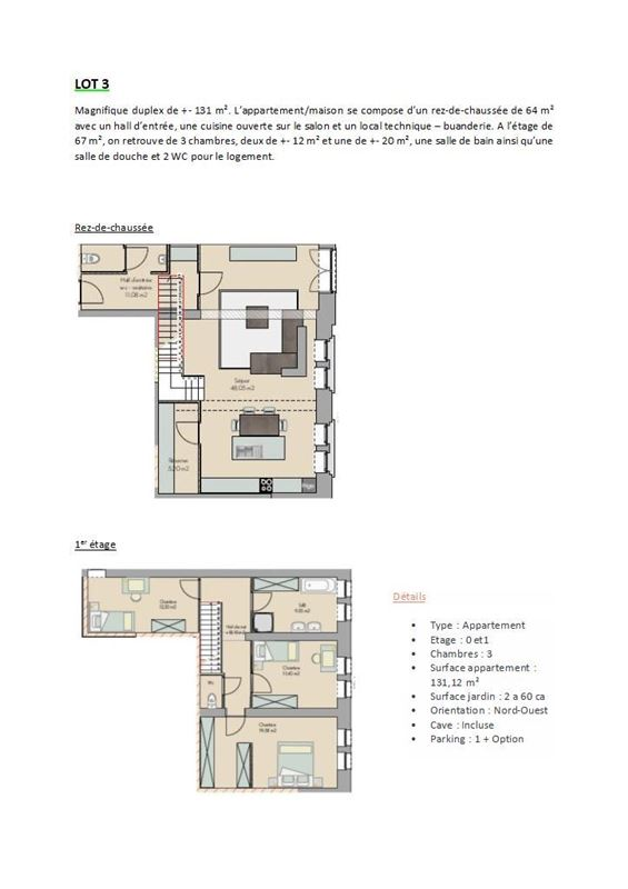 A Vendre Rez De Chaussée 3 Chambres Malonne 5020